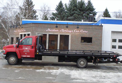 Harbor Springs Car Care Flatbed Truck